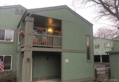 2557 S Dover Street UNIT 16, Lakewood, CO 80227 - MLS#: 2284820