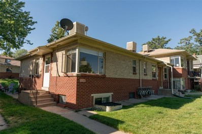 5012 W 36th Avenue UNIT 1, Denver, CO 80212 - MLS#: 2293466