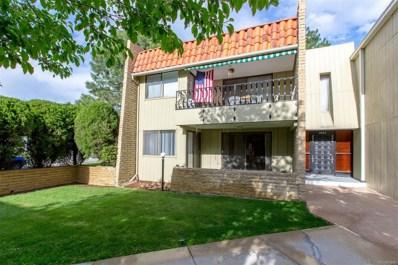 5882 E Ithaca Place UNIT 105, Denver, CO 80237 - MLS#: 2296389