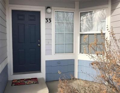 1419 Red Mountain Drive UNIT 33, Longmont, CO 80504 - MLS#: 2305735
