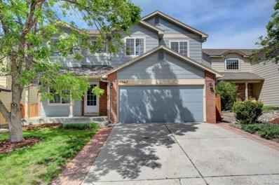 4962 N Silverlace Drive, Castle Rock, CO 80109 - #: 2336777