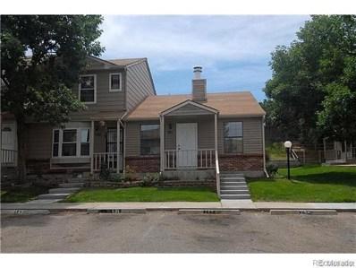 8140 Washington Street UNIT 131, Denver, CO 80229 - MLS#: 2441834