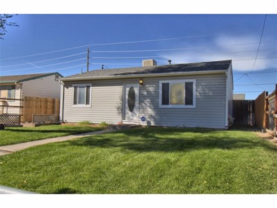 7841 Hollywood Street, Commerce City, CO 80022 - MLS#: 2485602