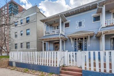 1209 Pearl Street UNIT 1, Denver, CO 80203 - MLS#: 2492827