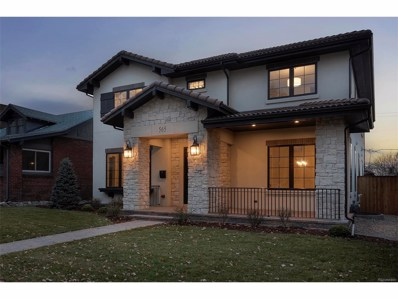565 S Corona Street, Denver, CO 80209 - MLS#: 2580279