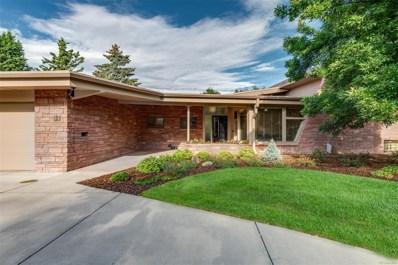 51 S Dahlia Street, Denver, CO 80246 - MLS#: 2595199