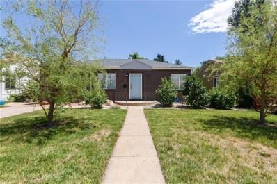 4920 Eliot Street, Denver, CO 80221 - MLS#: 2599784