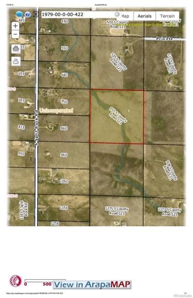 855 S County Road 121, Bennett, CO 80102 - MLS#: 2606809