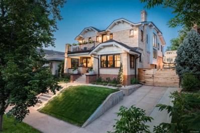 528 S Corona Street, Denver, CO 80209 - MLS#: 2642418