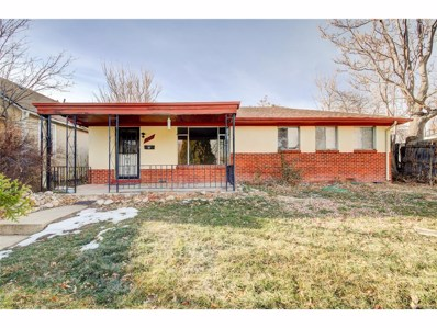 1271 Verbena Street, Denver, CO 80220 - MLS#: 2648616