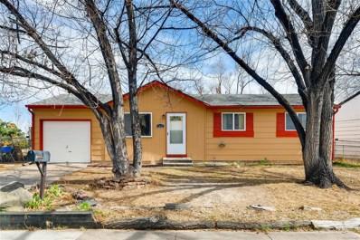 1031 Mt Werner Circle, Colorado Springs, CO 80905 - MLS#: 2666426