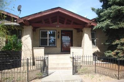 2909 Newton Street, Denver, CO 80211 - #: 2689442