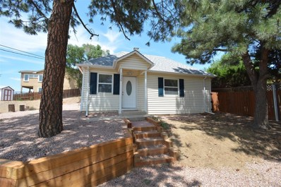 1530 Manitou Boulevard, Colorado Springs, CO 80904 - MLS#: 2731553