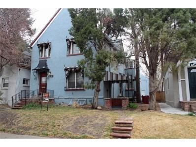522 N Ogden Street, Denver, CO 80218 - MLS#: 2738092
