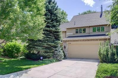 4530 S Verbena Street UNIT 336, Denver, CO 80237 - MLS#: 2743609