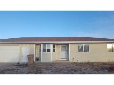 210 Ridge Street, Wiggins, CO 80654 - MLS#: 2761326