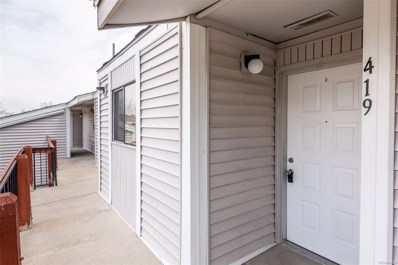 8635 Clay Street UNIT 419, Westminster, CO 80031 - #: 2771654