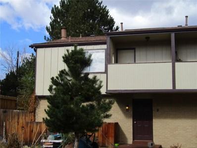 1847 Quail Street UNIT 10, Lakewood, CO 80215 - #: 2781298