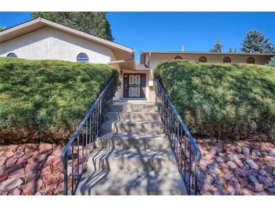 3208 Valley Hi Avenue, Colorado Springs, CO 80910 - MLS#: 2795054