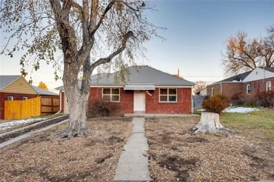 510 S Dale Court, Denver, CO 80219 - MLS#: 2807934