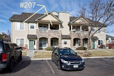 8354 S Holland Way UNIT 207, Littleton, CO 80128 - #: 2814633