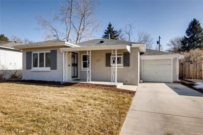 650 Olive Street, Denver, CO 80220 - #: 2832123