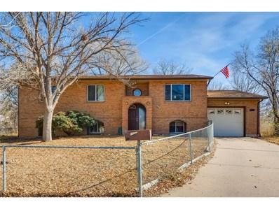 609 Rowe Lane, Colorado Springs, CO 80911 - MLS#: 2857450