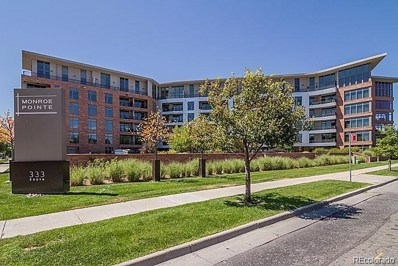 333 S Monroe Street UNIT 412, Denver, CO 80209 - #: 2883933