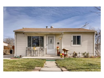 7856 Oneida Street, Commerce City, CO 80022 - MLS#: 2923205