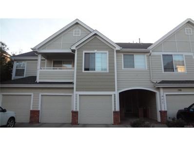 1381 S Cathay Court UNIT 102, Aurora, CO 80017 - MLS#: 2950234