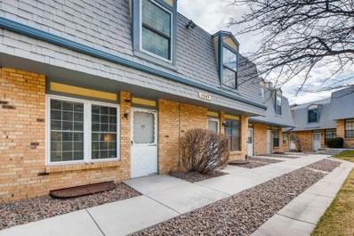 1547 S Owens Street UNIT 43, Lakewood, CO 80232 - MLS#: 2969880