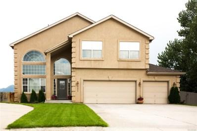 389 Sedona Drive, Colorado Springs, CO 80921 - MLS#: 3077363