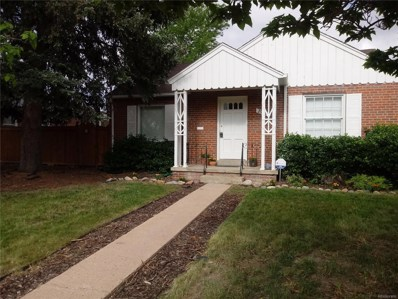 2925 Leyden Street, Denver, CO 80207 - MLS#: 3133070