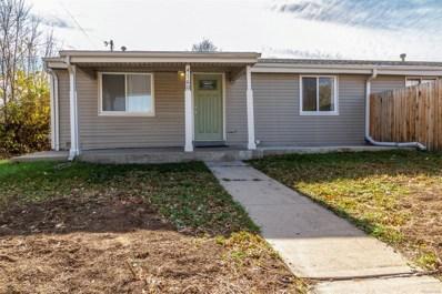 4160 W Walsh Place, Denver, CO 80219 - MLS#: 3153428