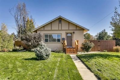 1200 Uinta Street, Denver, CO 80220 - MLS#: 3169744