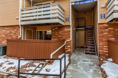 3328 S Ammons Street UNIT 101, Lakewood, CO 80227 - #: 3172591