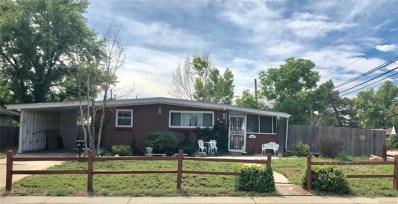 1600 Hopkins Drive, Denver, CO 80229 - MLS#: 3235523