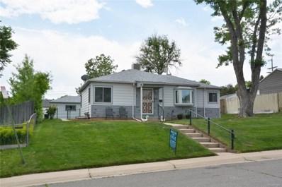 1350 W Ada Place, Denver, CO 80223 - MLS#: 3255559