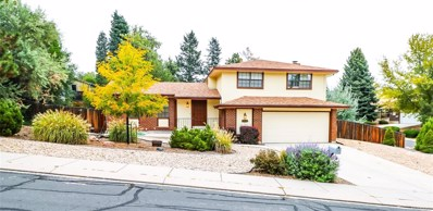 5530 Zapato Drive, Colorado Springs, CO 80917 - MLS#: 3288949