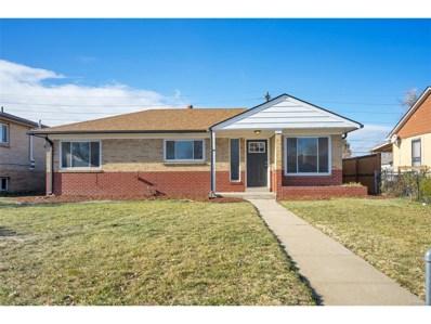 3525 Glencoe Street, Denver, CO 80207 - MLS#: 3323200