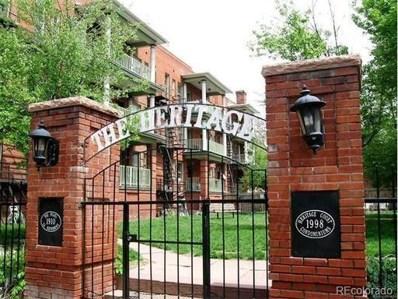 1376 Pearl Street UNIT B4, Denver, CO 80203 - MLS#: 3325971