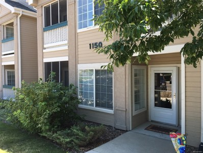 1150 Opal Street UNIT 102, Broomfield, CO 80020 - MLS#: 3405995