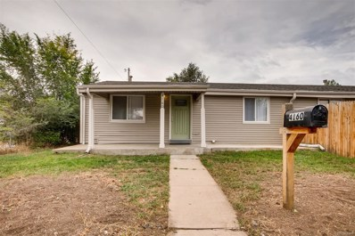 4160 W Walsh Place, Denver, CO 80219 - MLS#: 3489516