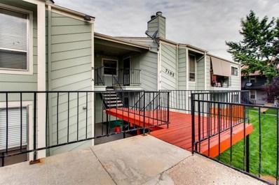 7195 S Gaylord Street UNIT B12, Centennial, CO 80122 - MLS#: 3523396