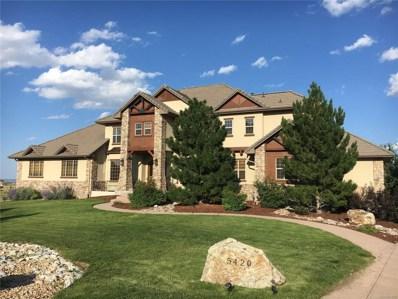 5420 Sunstone Lane, Castle Rock, CO 80108 - MLS#: 3558061