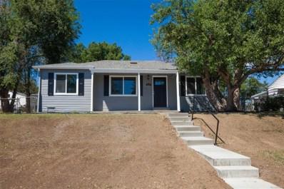 819 S Pecos Street, Denver, CO 80223 - MLS#: 3560280