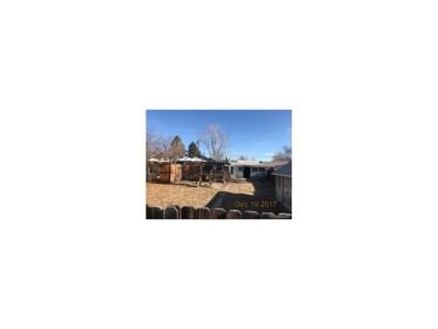 4460 S Bannock Street, Englewood, CO 80110 - MLS#: 3586456