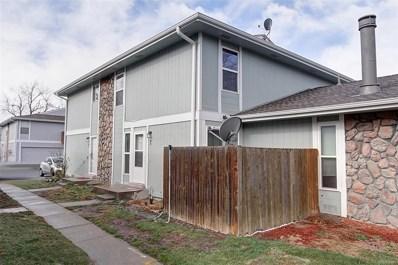 10001 E Evans Avenue UNIT 70B, Aurora, CO 80247 - MLS#: 3610376