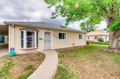 1249 Wheeling Street, Aurora, CO 80011 - MLS#: 3670338