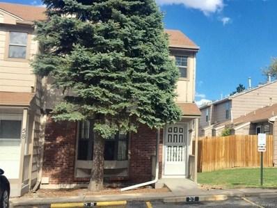 8156 Washington Street UNIT 59, Denver, CO 80229 - MLS#: 3692008